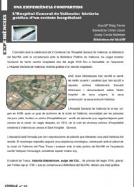 L'Hospital General de València: història gràfica d'un recinte hospitalari