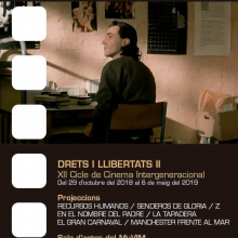 XII Cicle de Cinema Intergeneracional «Drets i llibertats II»