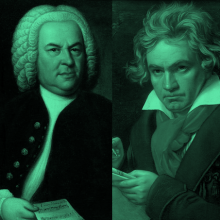 Les tres Bs: Bach, Beethoven, Brahms