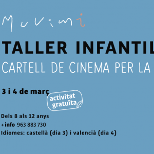 Taller Infantil - Cartell de cinema per la Igualtat -